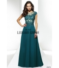 Rochie de ocazie lunga Luxuar verde