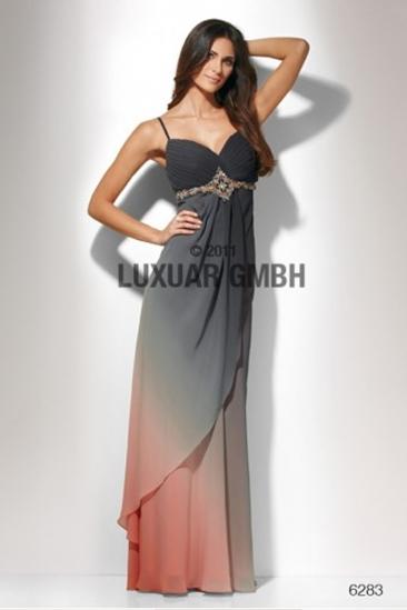 Rochie de seara lunga din chiffon Luxuar