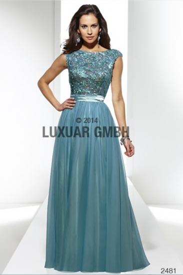 Rochie lunga de ocazie cu paiete Luxuar