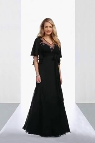 Rochie maxi de ocazie Luxuar neagra