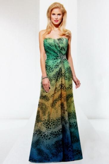 Rochie eleganta de seara Luxuar cu imprimeu