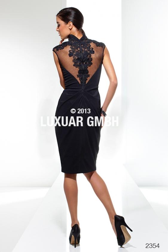 Rochie eleganta de seara Luxuar midi