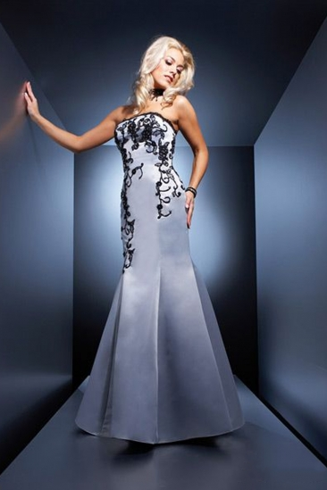 Rochie maxi de ocazie Luxuar stil sirena
