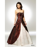 Rochie lunga de ocazie Luxuar tip bal
