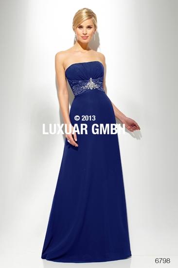 Rochie albastra de seara Luxuar