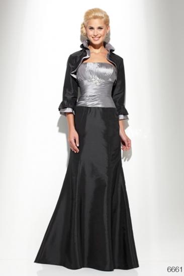 Rochie lunga de gala Luxuar cu bolero