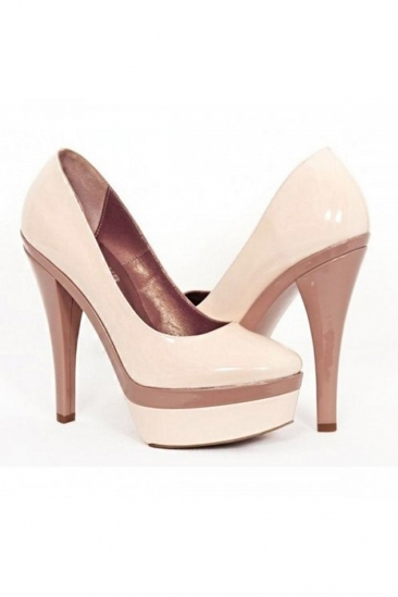 Pantofi cu platforma 102 rosa